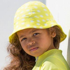 Petit Crabe UV-Mütze gelb 40/50+