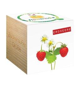 chicmic Flowercube Erdbeere