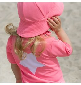 Petit Crabe UV-Shirt Bubblegum 50+