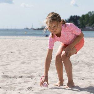 Petit Crabe UV-Shorts flamingo 50+