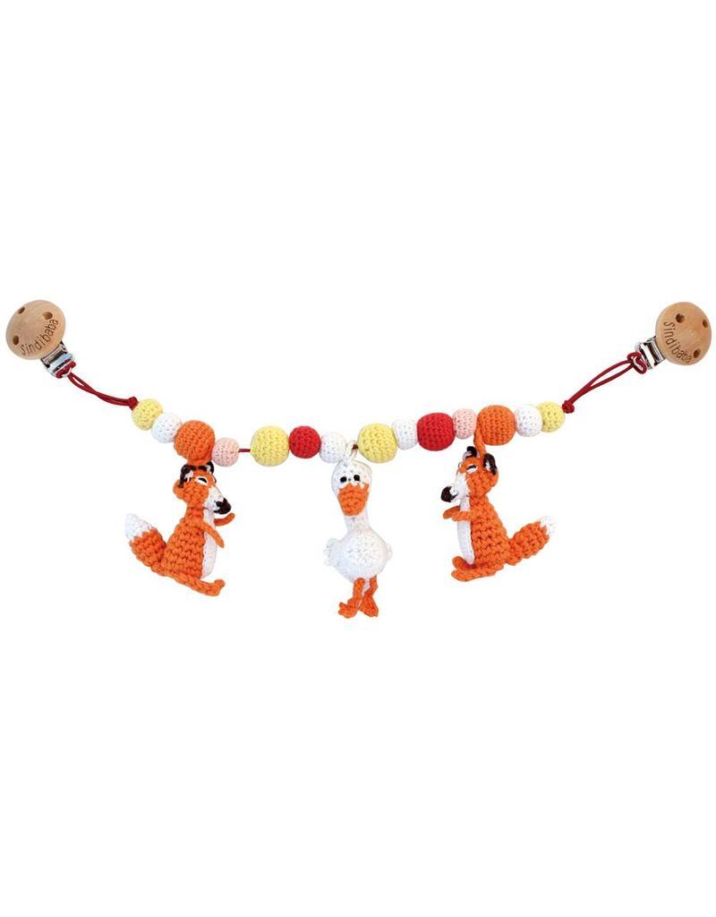 Sindibaba Kinderwagenkette Fuchs