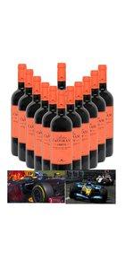 12 voor de prijs van 10. Jarno Trulli wijn Cadetto rood