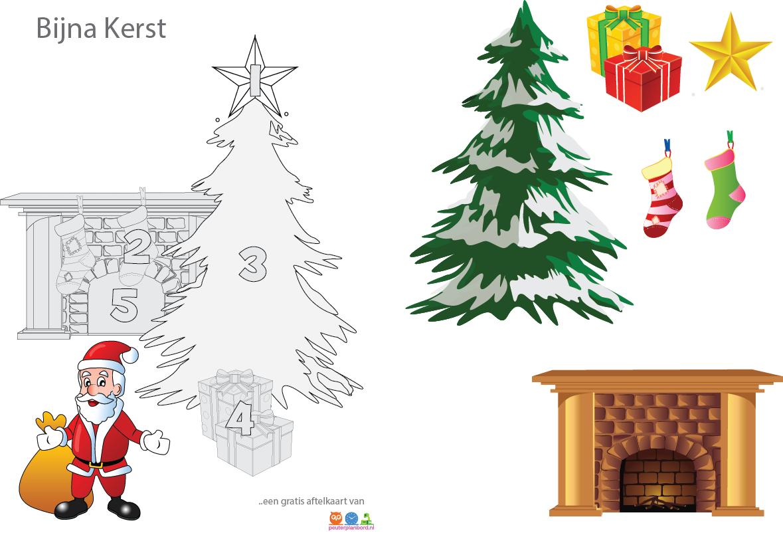 aftelkaart kerst