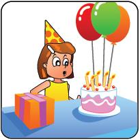 Pictogram Kind Verjaardag