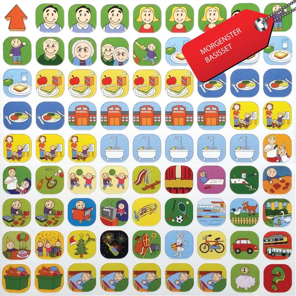 Voorkeur Planbord plus pictogrammen voor kinderen - kinderplanborden.nl QD16