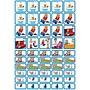 Zonneroosje Verzorging & Slapen - 50 pictogrammen (jongen)