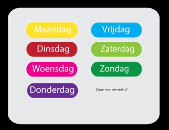 Spiksplinternieuw Inhoud van de setjes pictogrammen voor kinderen - kinderplanborden.nl WR-15