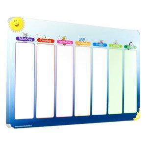 Een groot en overzichtelijk planbord voor uw kind
