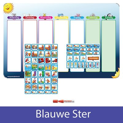 Planpakket Blauwe Ster - (jongen)