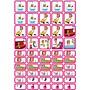 Zonneroosje Verzorging & Slapen - 50 pictogrammen (meisje)