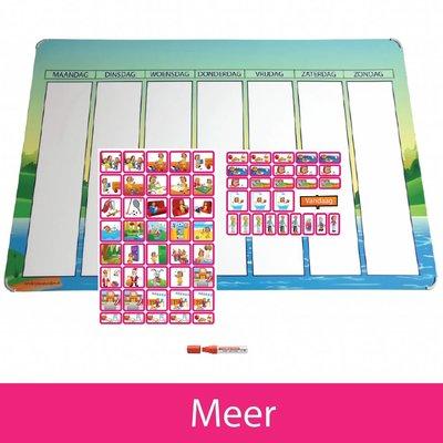 Planpakket Meer - (meisje)
