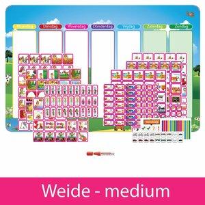 Planpakket Weide - medium (meisje)
