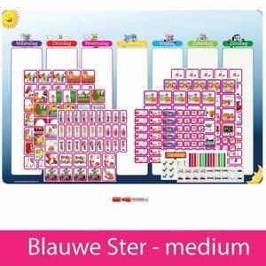 Planpakket Blauwe Ster - medium (meisje)