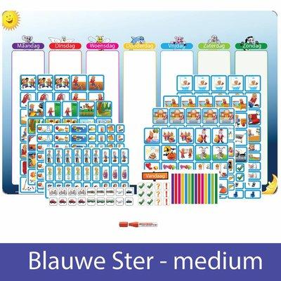 Planpakket Blauwe Ster - medium (jongen)