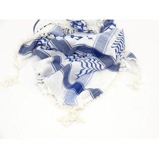 Sjaal Heren Cobalt blauw