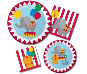 Basis Feestset voor Circus! feest