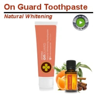 On Guard Whitening Toothpaste doTERRA
