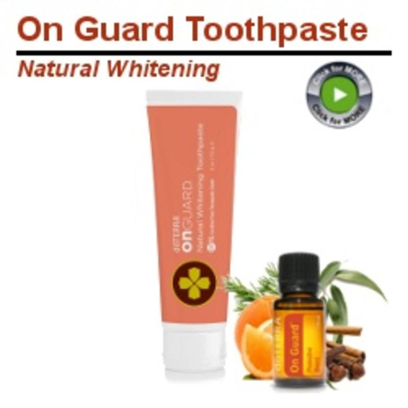 On Guard Whitening Tandpasta doTERRA