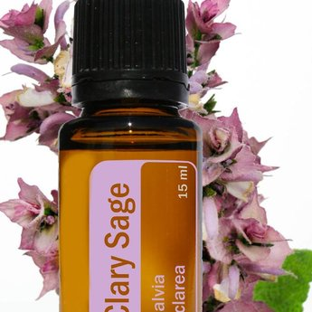 doTERRA Clary Sage Essentiële Olie doTERRA - enkelvoudige olie