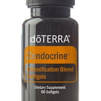 doTERRA Zendocrine Detoxification Blend softgels