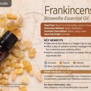 doTERRA Frankincense Essentiële Olie enkelvoudige olie
