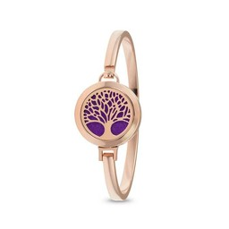 AromaLove Tree of Life Aromadiffuser bracelet (rose gold)
