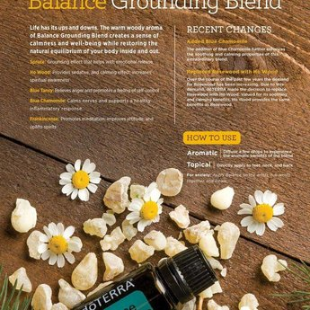 doTERRA Balance Essential Oil - Grounding blend