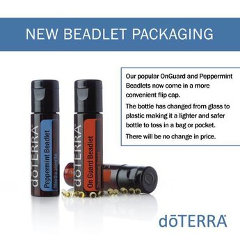 doTERRA On Guard beadlets + Peppermint capsules