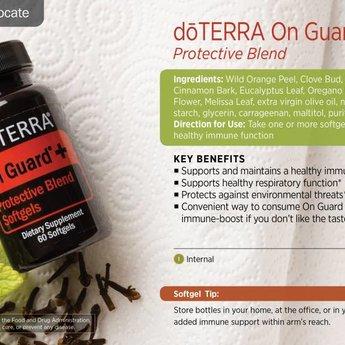 doTERRA On Guard+ Softgels 60 pcs.