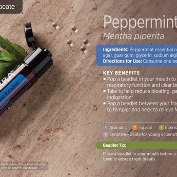 doTERRA Peppermint beadlets doTERRA