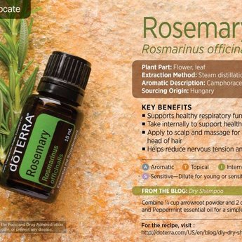 doTERRA Rosemary Essential Oil doTERRA