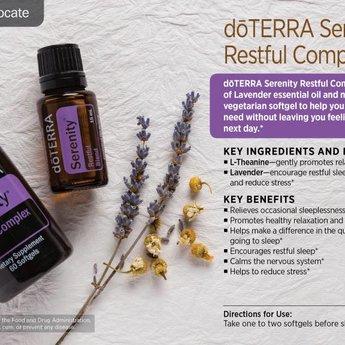 doTERRA Serenity Essential Oil blend - Restful Blend