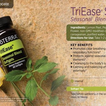 doTERRA TriEase Softgels - Seasonal Blend