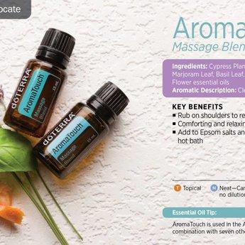 doTERRA AromaTouch Essential Oil - Massage blend