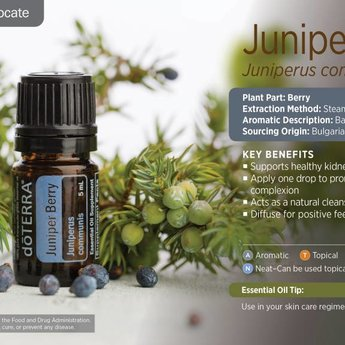 doTERRA Juniper Berry essential oil 5 ml.