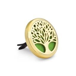 AromaLove Levensboom autodiffuser zilver/goud
