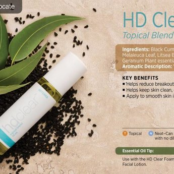 doTERRA HD Clear Topische samenstelling 10 ml. roller
