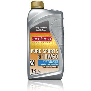 Ardeca Lubricants Pure Sports 10W60 Double ester volsynthetische motorolie 1L