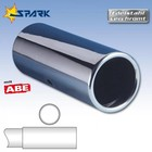 Spark Exhaust Technology Uitlaatsierstuk Speedline diameter 80mm
