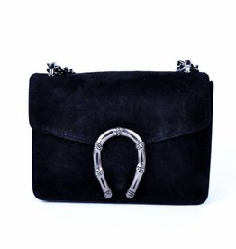 ECHT LEER Valerie shoulderbag - Black