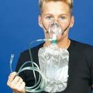 Oxygen Mask non rebreather adult