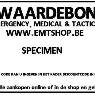 EMT Waardebon 20€