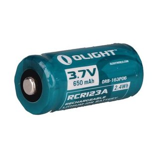 Olight RCR123A rechargeable battery
