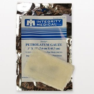 Tac-Med solutions petrolatum gauze