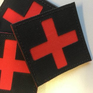 Apatch Cross patch red black