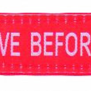 Tee-UU Remove before firefight tag