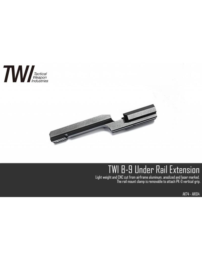 TWI B-09 Tactical Front Pannel (Full marking and CNC Work )
