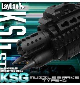 Laylax FirstFactory KSG Flash Hider Type D
