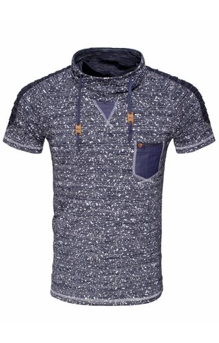 WAM Denim t-shirt navy 79327