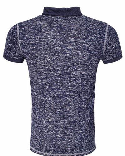 WAM Denim navy mixed t-shirt